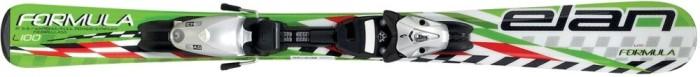 Горные лыжи ELAN Formula QT6 green с крепл. EL 4.5