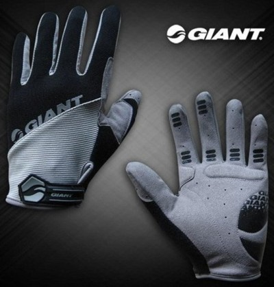 Велоперчатки GIANT Long Finger Glove (black)