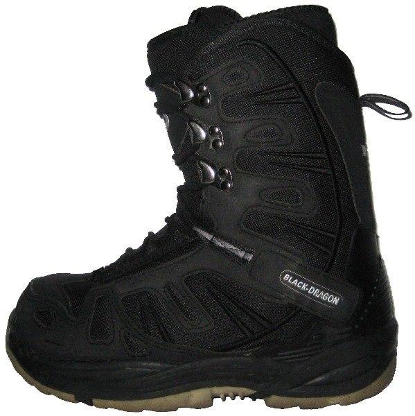 Ботинки сноубордические BLACK DRAGON black (б/у)