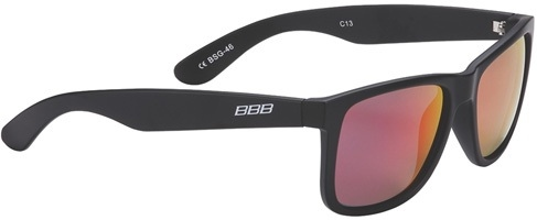 Очки BBB Street (matt black/red)