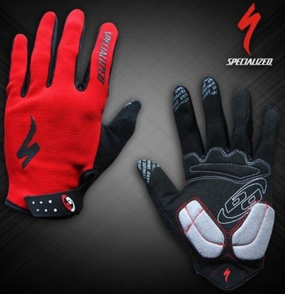 Велоперчатки SPECIALIZED BG Long Finger (red)