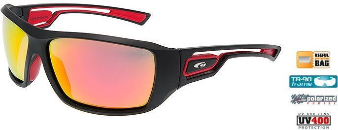 Очки GOGGLE Gabo E214-2P (matt black/red)