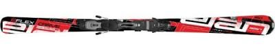 Горные лыжи ELAN Flex Carve Red Plate с крепл. EL10 black/red