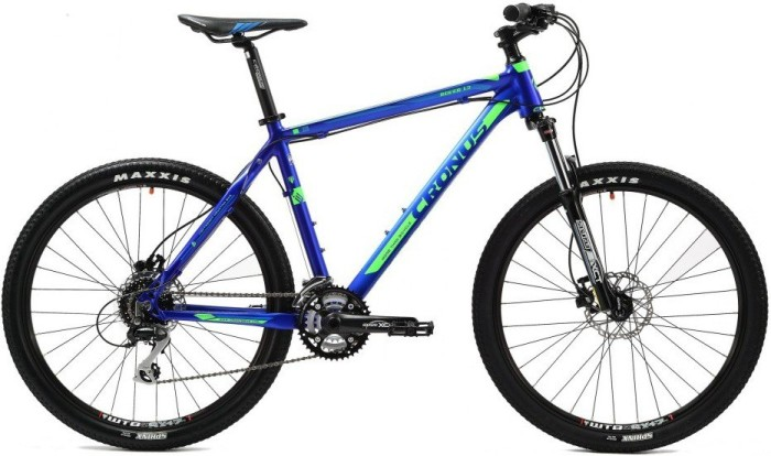 Горный велосипед CRONUS Rover 1.3 matt blue/green (2014)