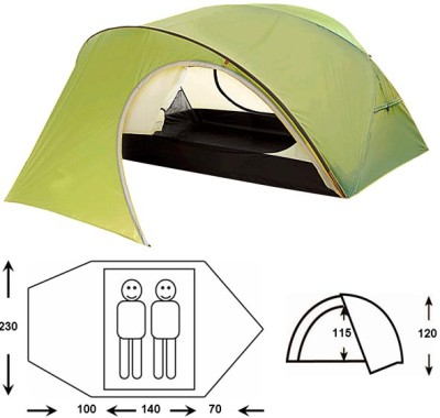 Палатка OUTDOOR PROJECT Proxima 2 FG (olive)