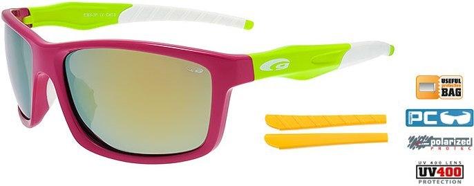 Очки GOGGLE Stylo+ E365-3P (pink/green)