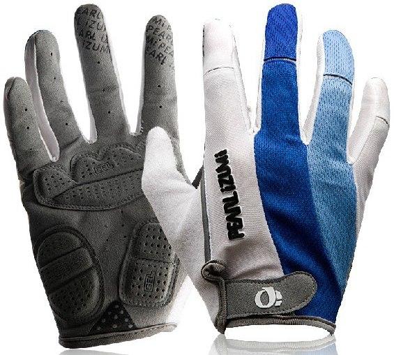 Велоперчатки PEARL IZUMI Long Finger Glove GHpi 2471 (white/blue)