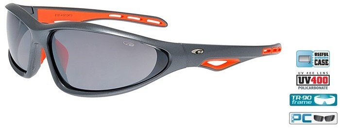 Очки GOGGLE Tucan E131-4 (metallic grey/orange)