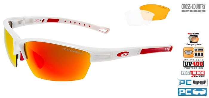 Очки GOGGLE Collot T580-2 (white)