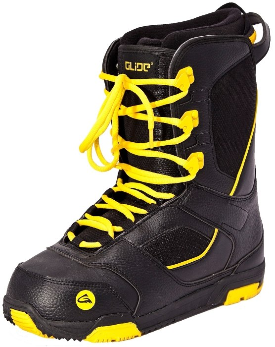 Ботинки сноубордические GLIDE Lace black/yellow (2013)