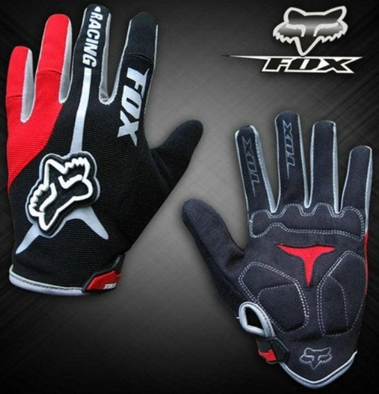 Велоперчатки FOX Racing (red)