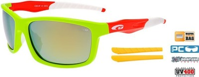 Очки GOGGLE Stylo+ E365-4P (green/orange)