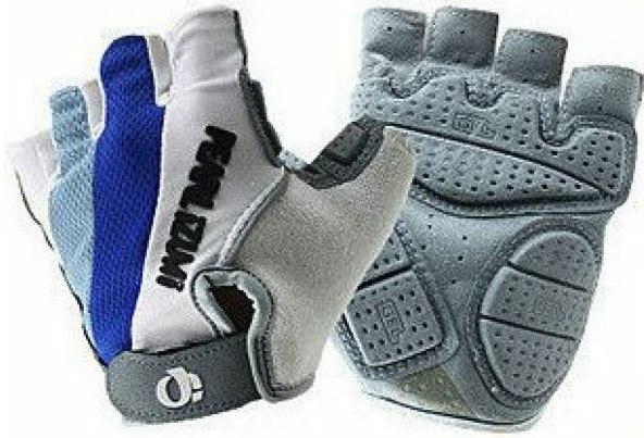Велоперчатки PEARL IZUMI Half Finger Glove GHpi 2471 (white/blue)