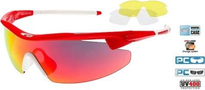 Очки GOGGLE Razor E690-3 (red/white)