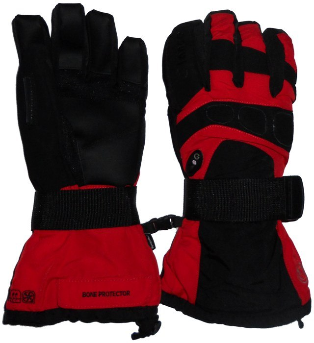 Перчатки GLANCE X-Ray (black/red)
