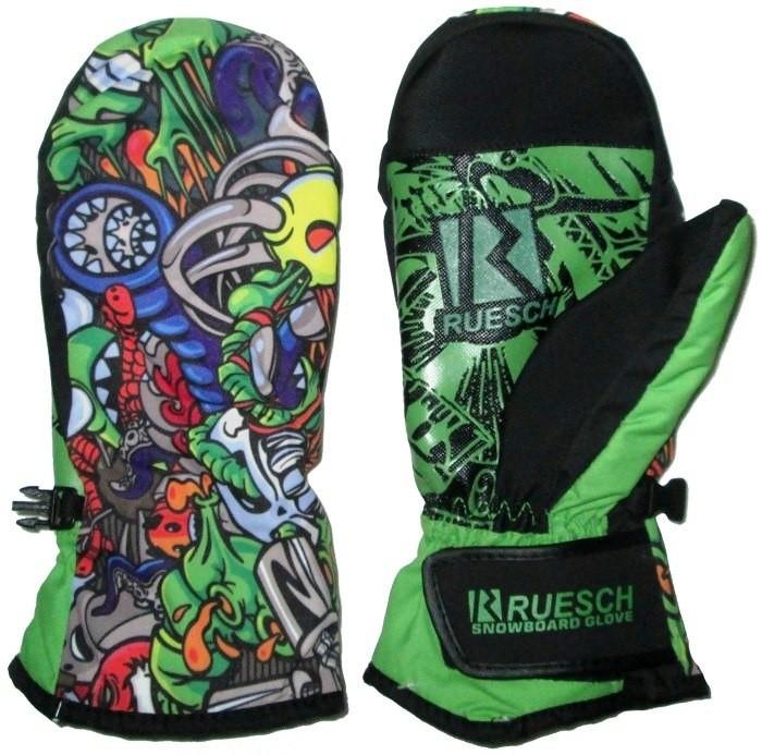 Варежки RUESCH Snowboard Glove (green)
