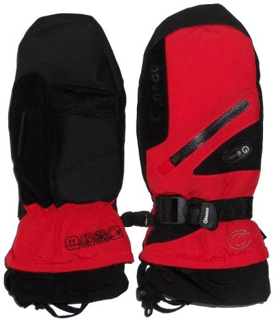 Варежки GLANCE Fighter Mitten (red/black)