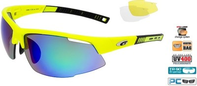 Очки GOGGLE Falcon Race E866-2 (yellow/black)