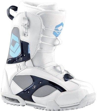 Ботинки сноубордические FTWO Glam white (2012)