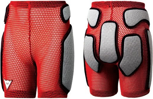 Защитные шорты DAINESE Kid Impact Short (red)