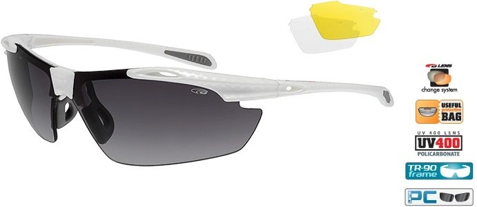 Очки GOGGLE Raven Race E721-2 (white carbon)