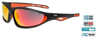 Очки GOGGLE Tucan E131-2 (matt black/orange)