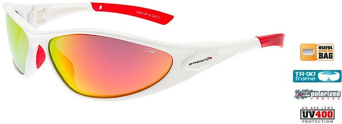 Очки GOGGLE Picadilly+ E337-2P (matt white/red)