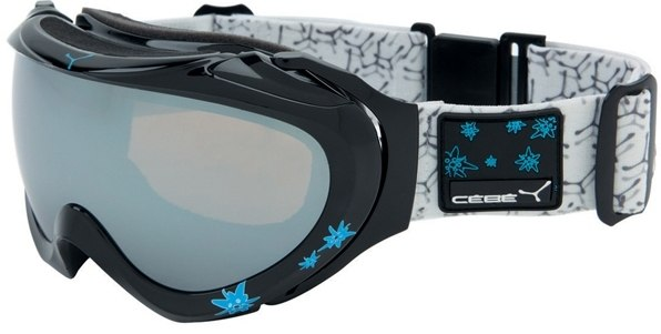 Маска CEBE Crux (black/blue/grey Flash Mirror)