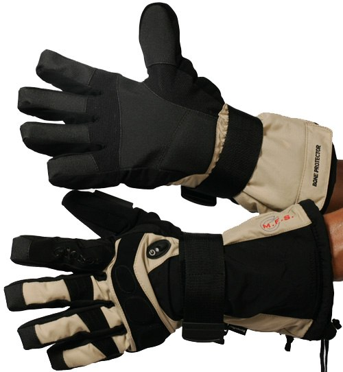 Перчатки GLANCE X-Ray (black/beige)