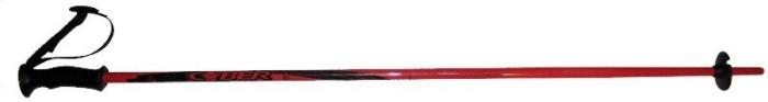 Палки горнолыжные COBER Wave jr. (red)