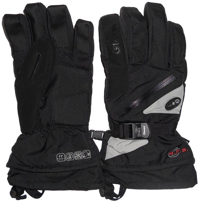 Перчатки GLANCE Fighter (black/silver)