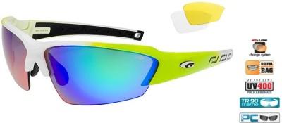 Очки GOGGLE Hawk Race E854-4 (white/green)