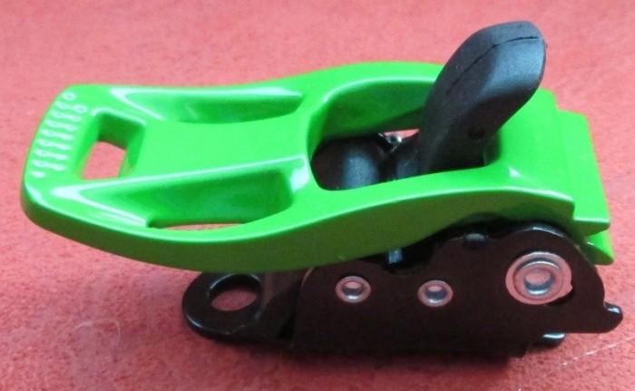 Бакля для сноубордических креплений алюминиевая (зелёная)