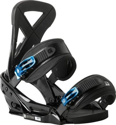 Крепления сноубордические BURTON Custom EST (black)