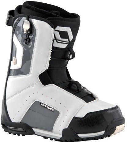 Ботинки сноубордические FTWO Agent white/black (2012)