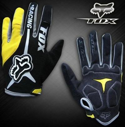 Велоперчатки FOX Racing (yellow)