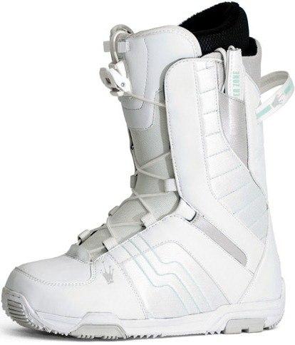 Ботинки сноубордические NIDECKER Eden Ez Lace white/light blue (2011)