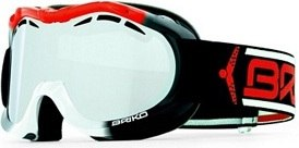 Маска BRIKO Jr Cup (black red/thrama red active dl)