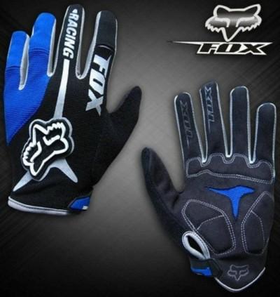 Велоперчатки FOX Racing (blue)