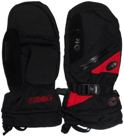 Варежки GLANCE Fighter Mitten (black/red)