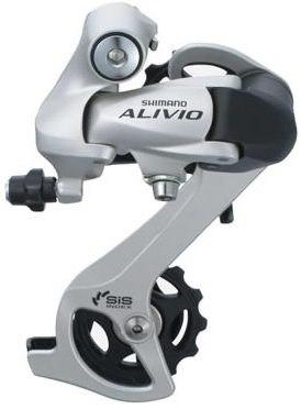 Переключатель задний SHIMANO Alivio RD-M410 (silver)
