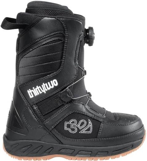 Ботинки сноубордические 32 Exus BOA W (black/white)