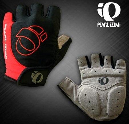 Велоперчатки PEARL IZUMI Pittards (black/red)