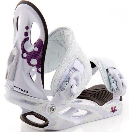 Крепления сноубордические FTWO Vision white (2011)