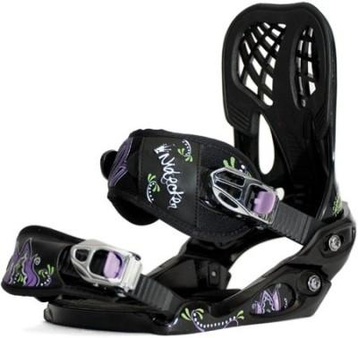 Крепления сноубордические NIDECKER Angel black/purple (2011)