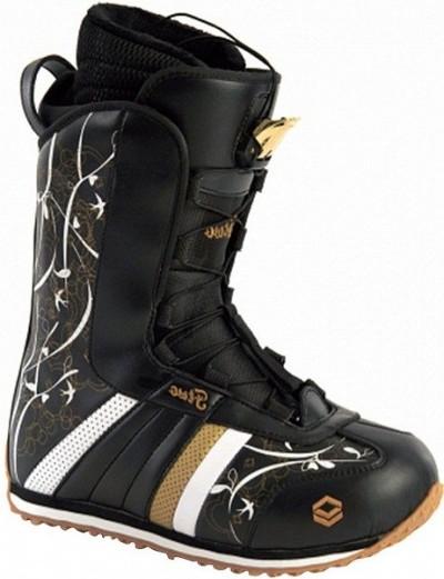 Ботинки сноубордические FTWO Aura black (2011)
