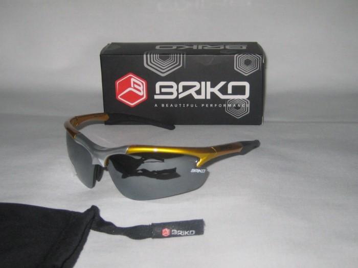 Очки BRIKO Techno Solo (metal/yellow)