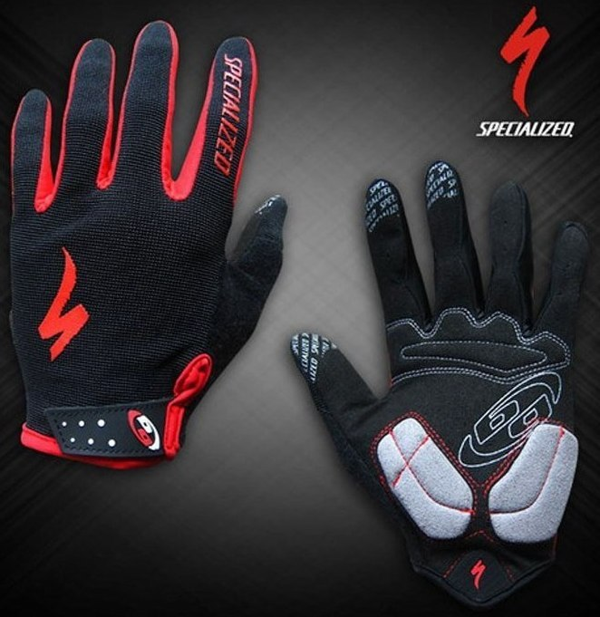 Велоперчатки SPECIALIZED BG Long Finger (black)