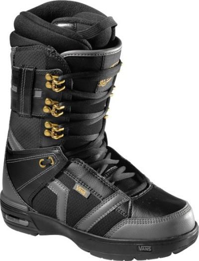 Ботинки сноубордические VANS Hi-Standard W black/grey (2011)