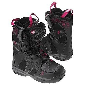 Ботинки сноубордические SALOMON Ivy (black/autobahn/biarrp)